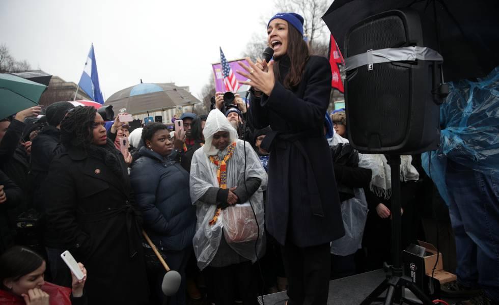 A deputada democrata Alexandria Ocasio-Cortez