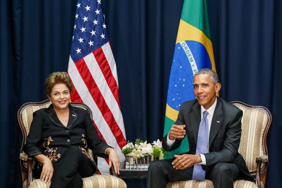 Dilma e Obama se encontram nesta semana.