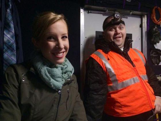 Os jornalistas assassinados em Virgínia: Alison Parker e Adam Ward.