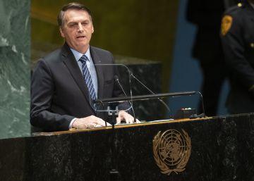 Em seu primeiro discurso na abertura da Assembleia Geral das Nações Unidas, em Nova York, presidente do Brasil também negou que Amazônia esteja sendo devastada   É uma falácia dizer que a Amazônia é um patrimônio da humanidade