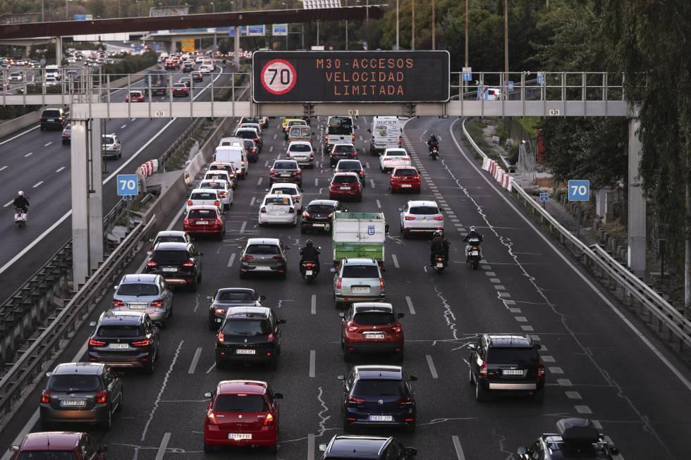 Poluição em Madri.