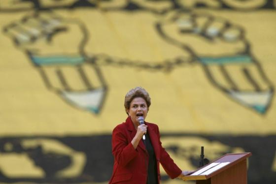 Dilma Rousseff, na última quarta-feira.
