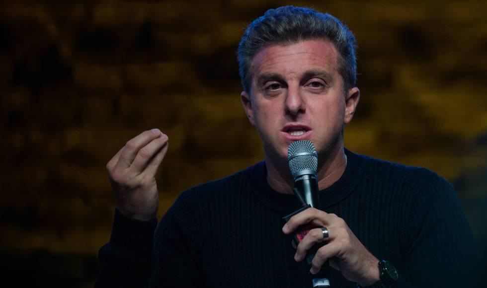 O apresentador Luciano Huck, em um evento em São Paulo no mês passado.