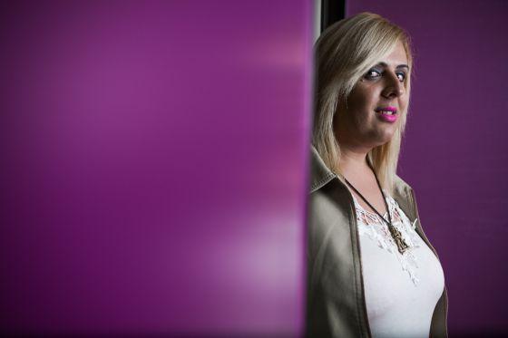 Valeryah Rodriguez, vítima de violência doméstica durante quatro anos.
