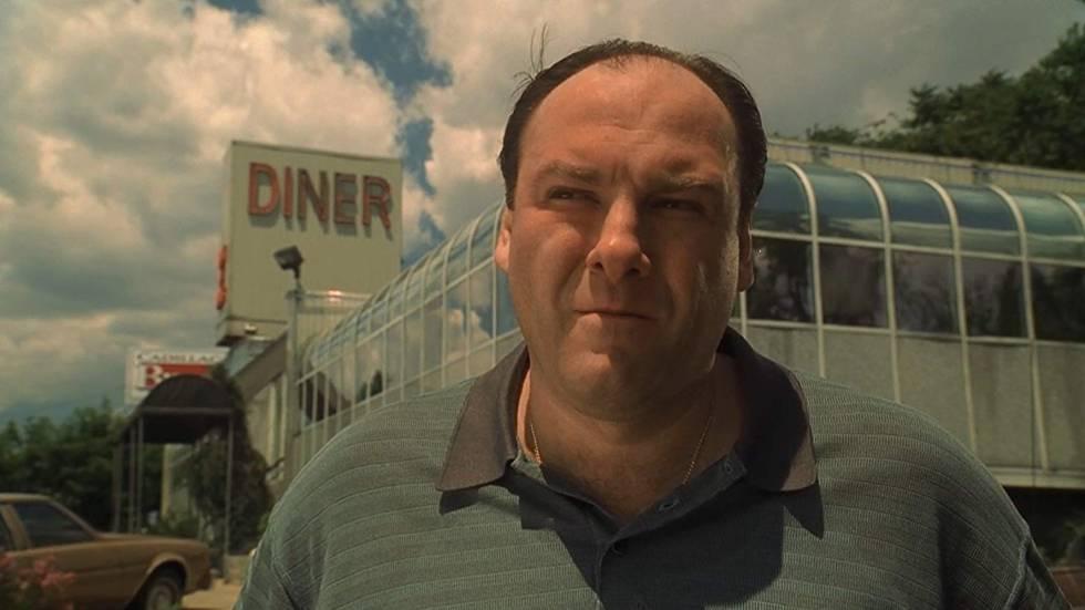 James Gandolfini, no papel de Tony Soprano na série 'Família Soprano'