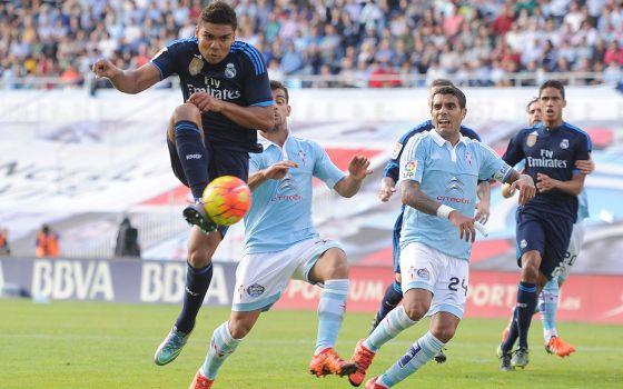 Casemiro foi um dos destaques na vitória sobre o Celta.