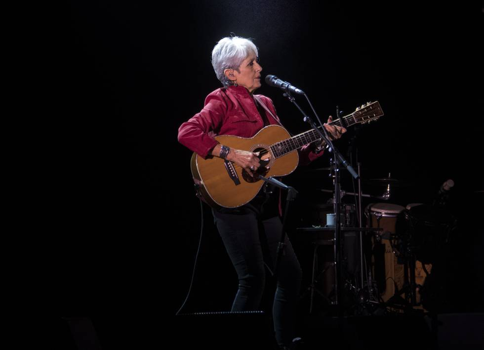 Summer Festivals Folk Legend Joan Baez Comes To Spain On Her Farewell Tour News El Pais In English