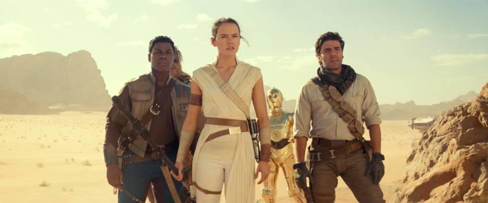 O novo grupo de protagonistas da trilogia final de 'Star Wars'