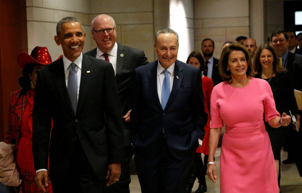 O presidente Obama, durante uma cerimônia recente em Washington.