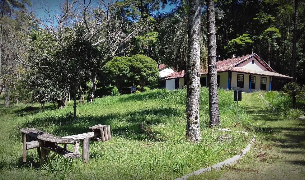 Casa de Cabangu, em Santos Dumont, na Zona da Mata mineira.
