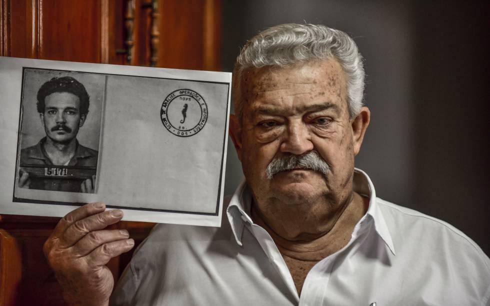 O ferramenteiro Lúcio Bellentani, que foi preso enquanto trabalhava.
