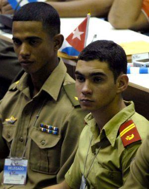 Elián González during the Communist Youth Congress in 2010.