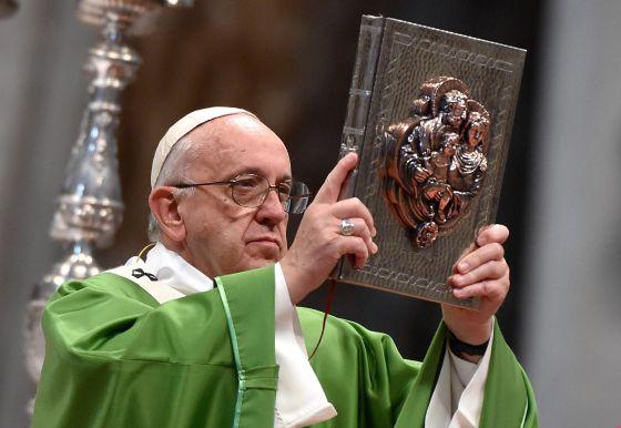 O papa Francisco, durante o Sínodo da Família.