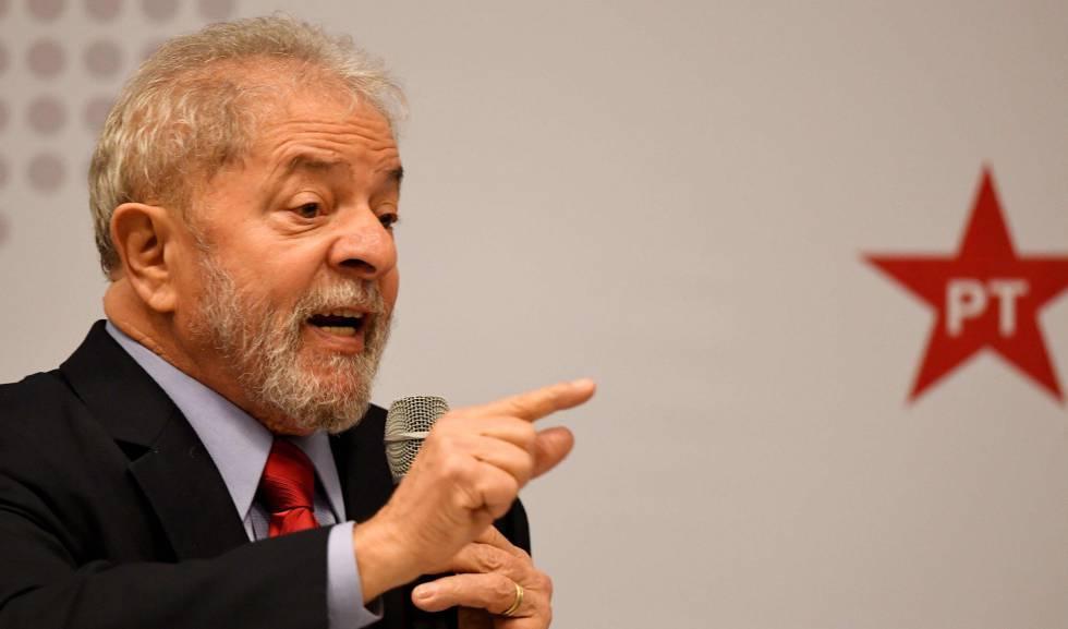 Lula, nesta segunda, em Brasília.