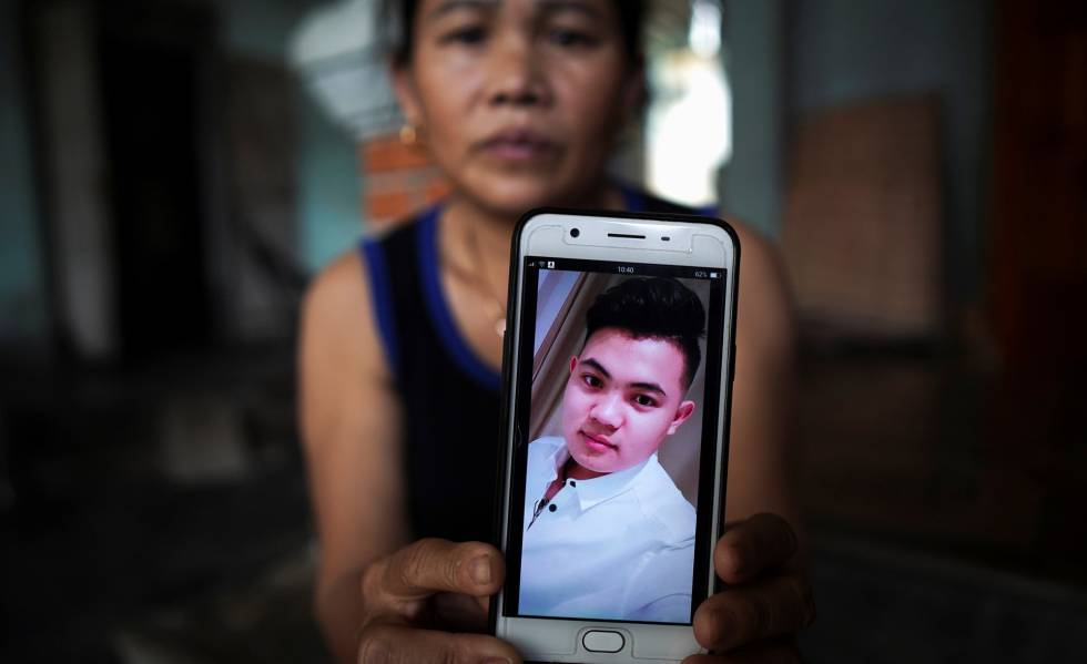 Hoang Thi Ai, de 48 anos, mãe de Hoang Van Tiep, suspeito de estar entre as 39 vítimas cujos corpos foram achados em Londres.