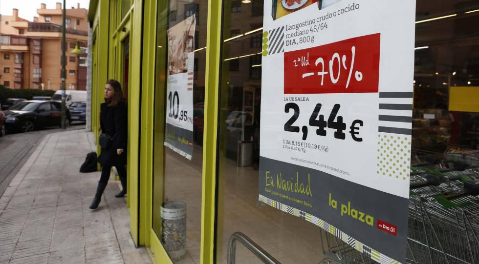 Supermercado de DIA na Espanha.