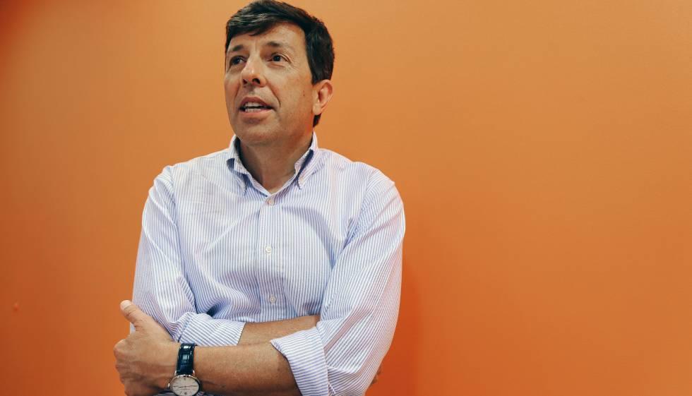 O presidenciável João Amoêdo, em seu escritório em São Paulo.