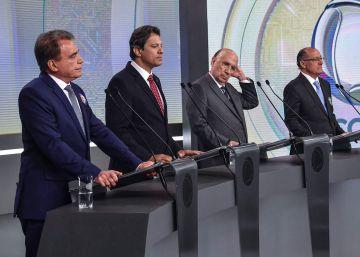 Edir Macedo, dono da Rede Record e líder da Igreja Universal, disse em seu Facebook que vai apoiar o candidato Jair Bolsonaro na corrida presidencial. Candidato do PSL não participou de embate direto