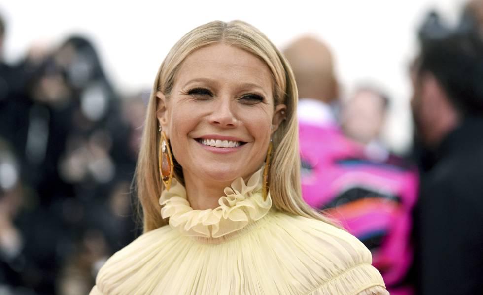 Atriz Gwyneth Paltrow chega ao baile de gala do MET, em maio