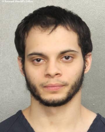 O atirador de Fort Lauderdale, Esteban Santiago, de 26 anos