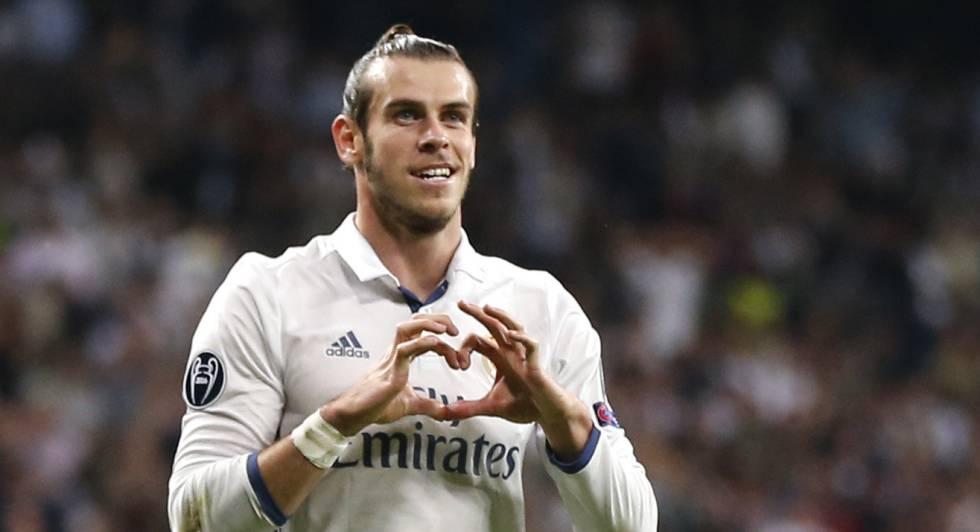 Bale abriu o placar no Santiago Bernabéu.