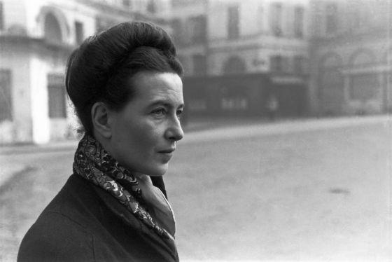 Simone de Beauvoir.