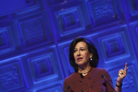 Ana Botim, presidenta do Santander.