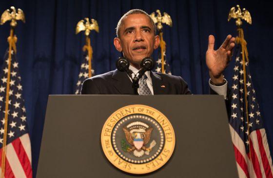 O presidente Barack Obama, na Filadélfia.