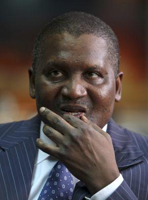 Aliko Dangote, o homem mais rico da África, em imagem de 2013.