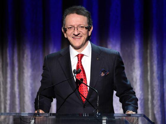 Gabriel Abaroa, na cerimônia do ano passado.