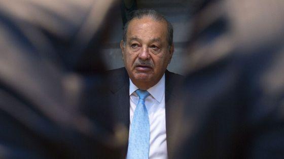 O bilionário mexicano Carlos Slim.