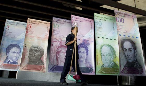 Sede do Banco Central de Venezuela.