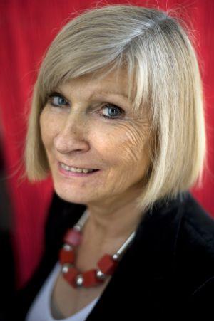 A filósofa belga Chantal Mouffe.