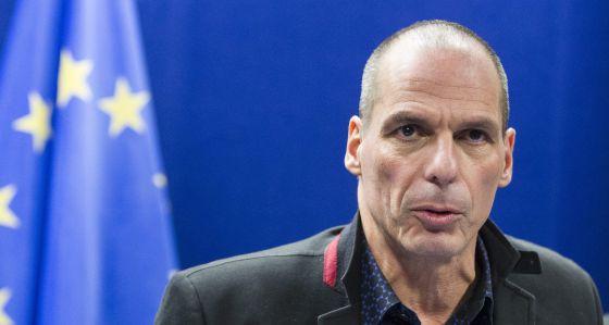 O ministro das Finanças da Grécia, Yanis Varufakis.