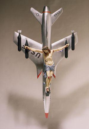 'La Civilización Occidental y Cristiana', obra de Ferrari criticada por Bergoglio e que valeu ao artista prêmio em Veneza.