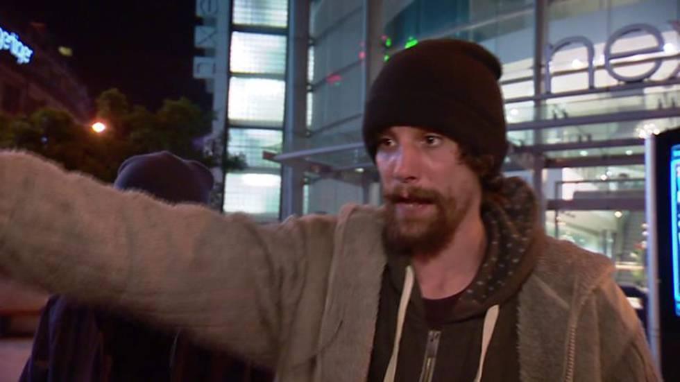 Chris Parker, em foto tomada de um vídeo da BBC.