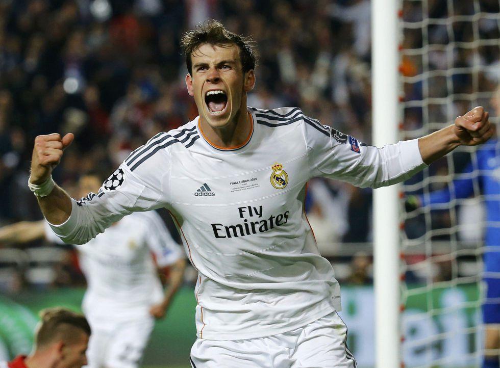 Gareth Bale marca o 2 x 1.