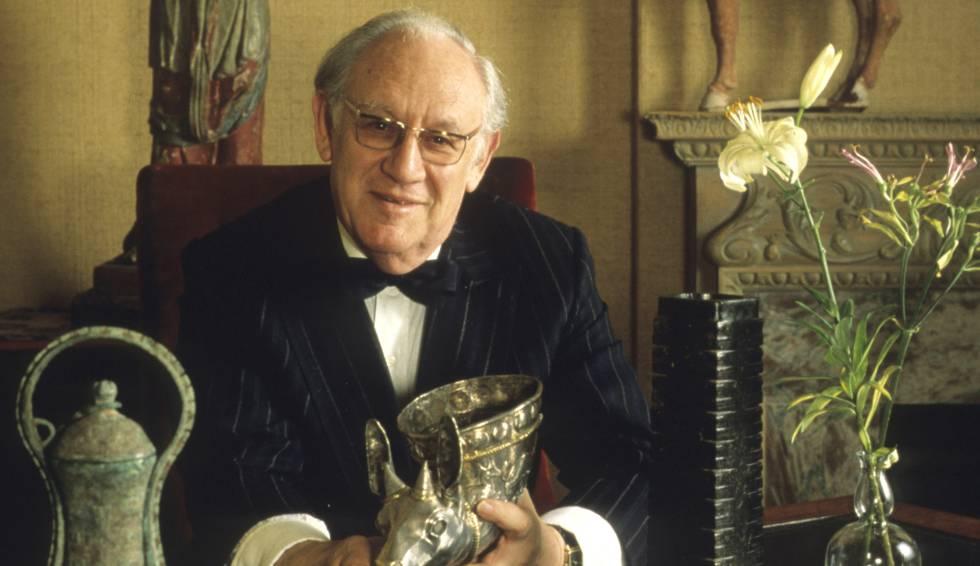 Arthur Sackler, fundador do império farmacêutico Sackler e mecenas artístico.
