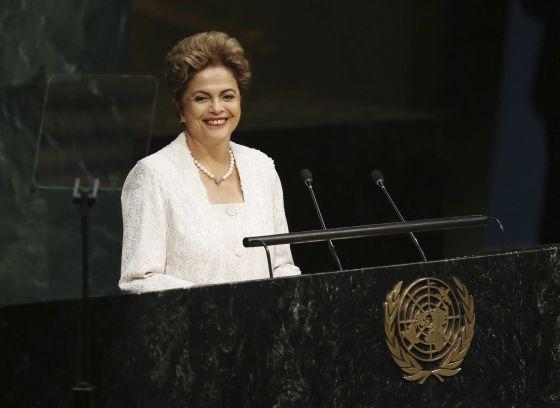 Dilma Rousseff discursa na ONU.