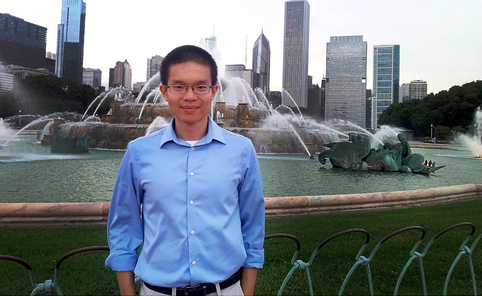 Hao Huang, em uma imagem do autor na página mathcs.emory.edu (Hao Huang@emory).