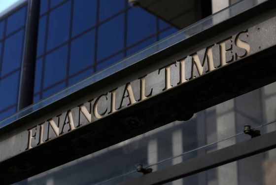 Sede do Financial Times em Londres.