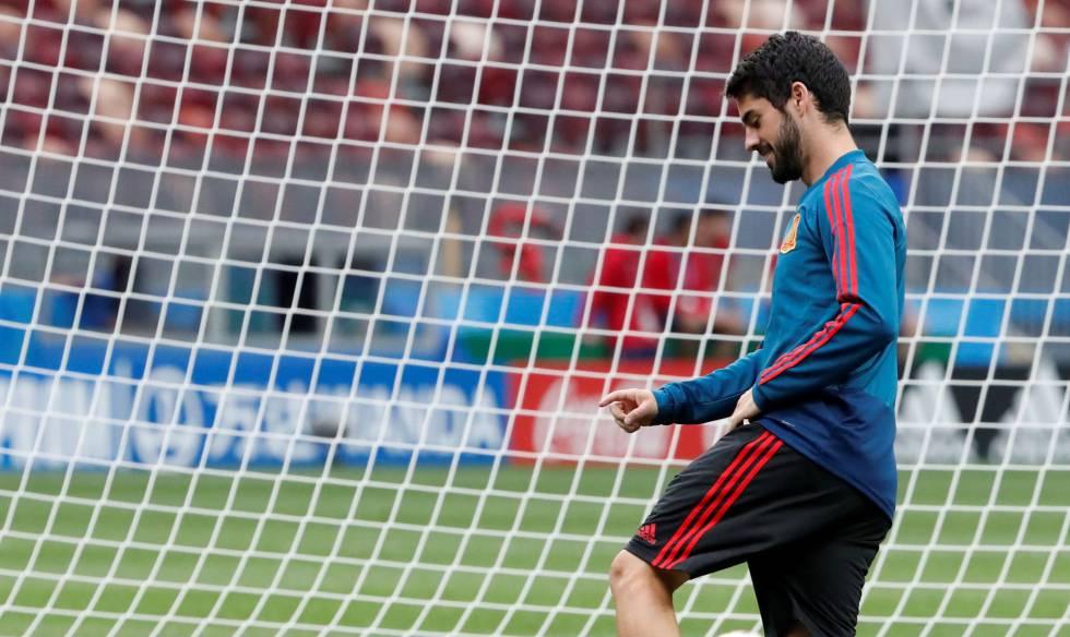 O meia Isco é um dos destaques da Espanha na Copa.