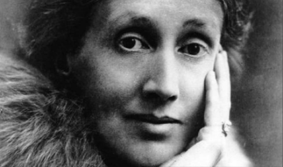 Virginia Woolf na década de trinta.