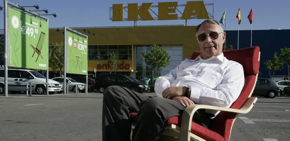 Ingvar Kamprad, fundador da rede de móveis Ikea, em foto de 2006.