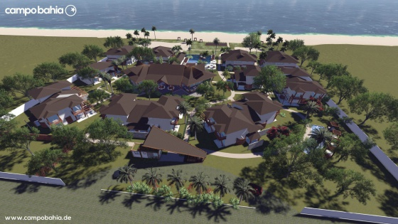 O futuro complexo 'Campo Bahia'.