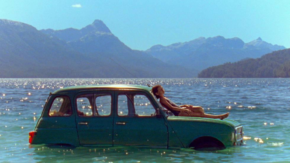 Cena de 'A Ideia de um Lago'