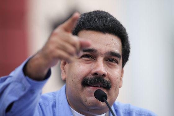 Nicolás Maduro, em um evento no Palácio de Miraflores.