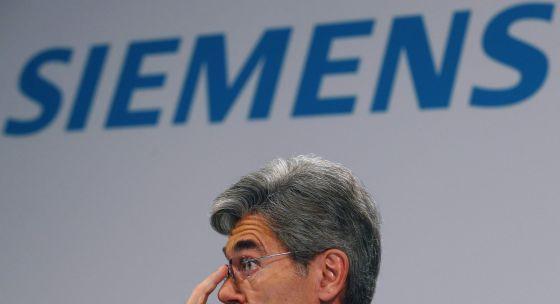O presidente de Siemens, Joe Kaeser.