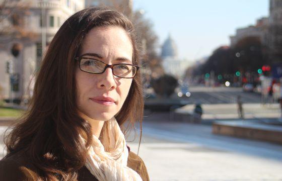 Michelle Kinsey, ativista pelo direito ao aborto.