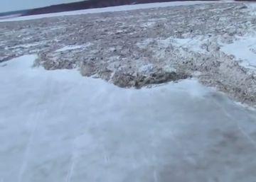 NASA identifica marcas de duas grandes inundações provocadas pelo impacto de meteoritos de 30 quilômetros de diâmetro